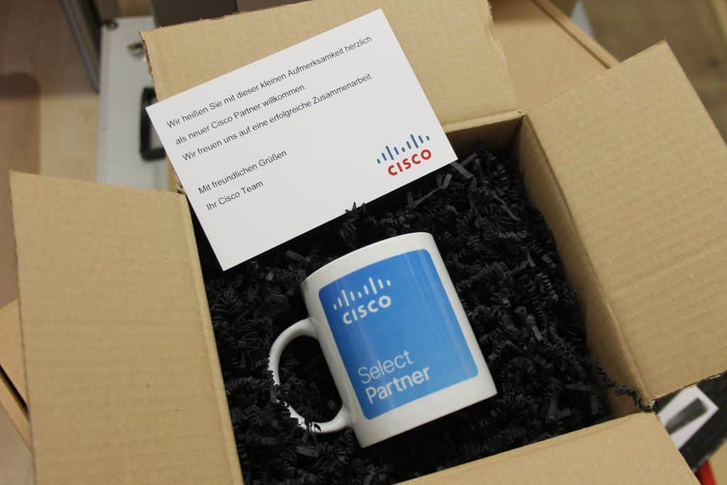 Cisco Partner-Tasse